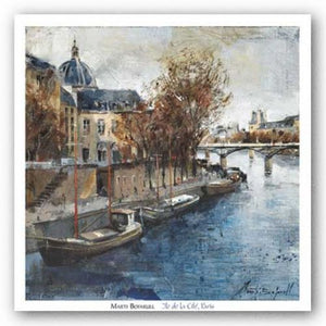 Ile de la Cite, Paris by Marti Bofarull