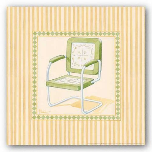 Retro Patio Chair II by Paul Brent
