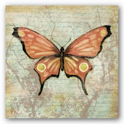 Vintage Butterflies I by Paul Brent