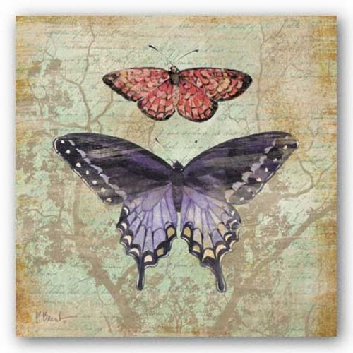 Vintage Butterflies IV by Paul Brent