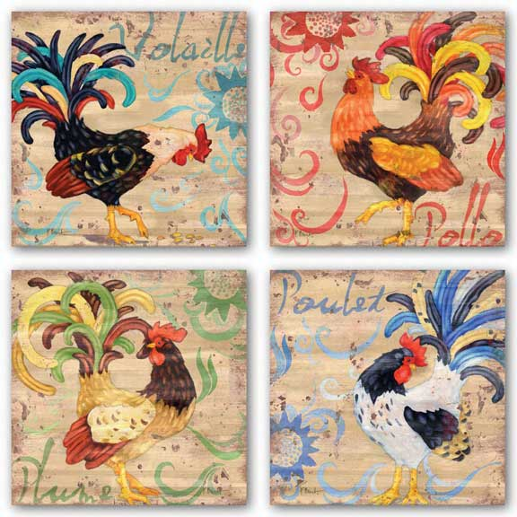 Royale Rooster Set by Paul Brent