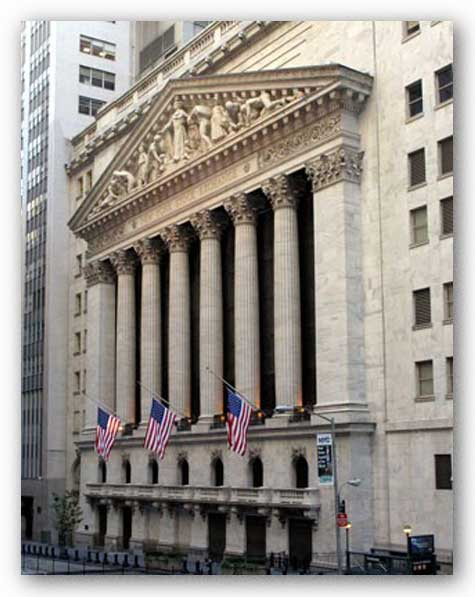 New York Stock Exchange by Igor Maloratsky
