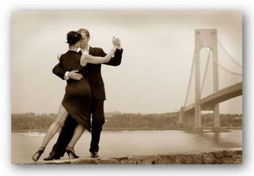 Tango by Verrazano Bridge by Igor Maloratsky