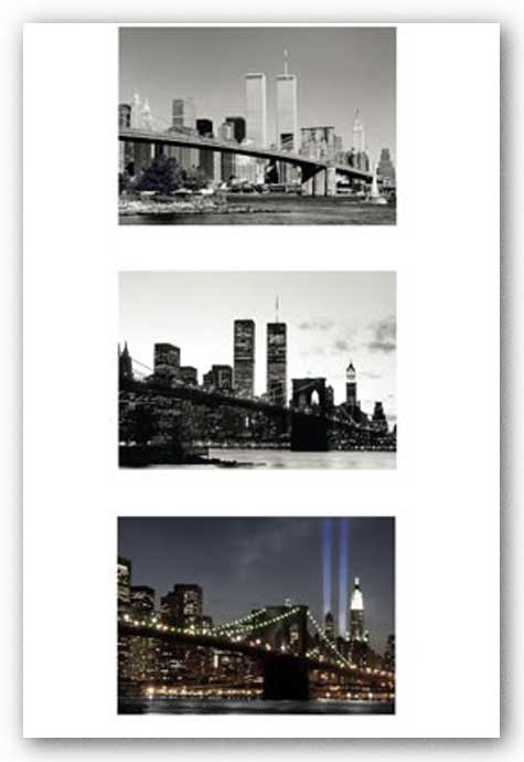 WTC Memorial Triptych by Igor Maloratsky