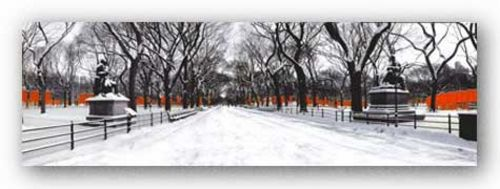 The Gates Along Poet's Walk, Central Park by Igor Maloratsky