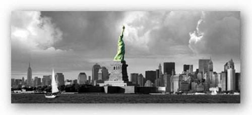 Statue of Liberty, New Downtown Panorama by Igor Maloratsky