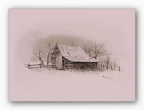 Melton's Barn by Howard Burger