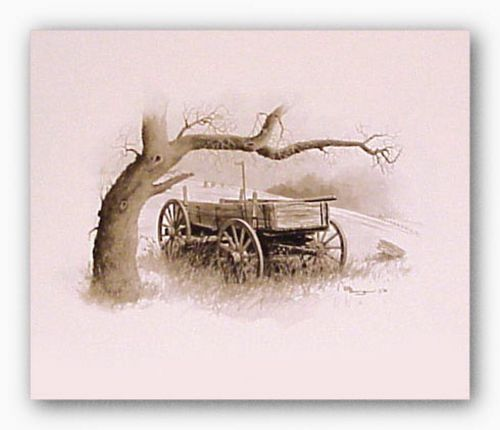 Sheltered Wagon by Howard Burger