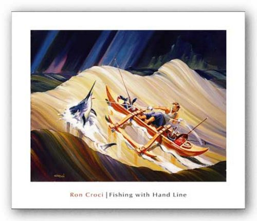 Fishing with Hand Line by Ron Croci