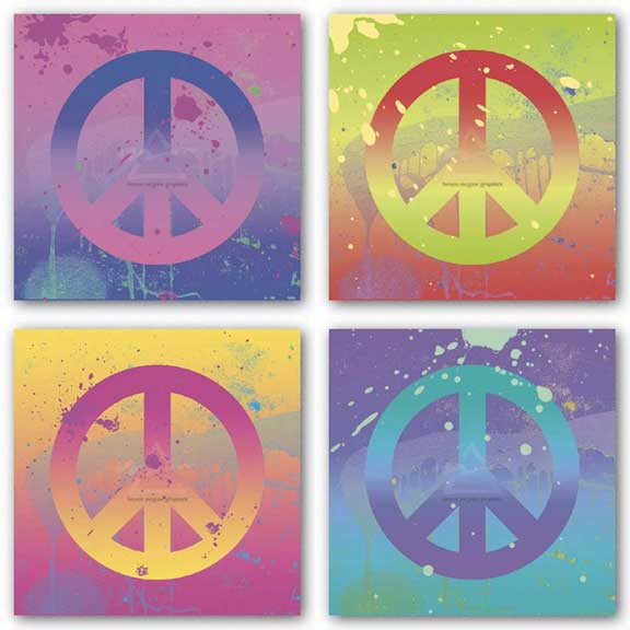 Peace Sign Set by Erin Clark