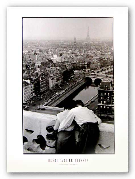 View From The Towers Of Notre Dame, 1955 by Henri Cartier-Bresson