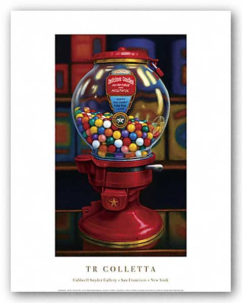 Gumball Machine IV by T.R. Colletta