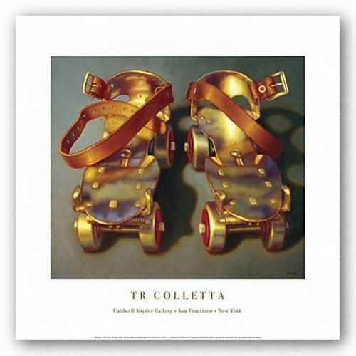 Roller Skates II by T.R. Colletta