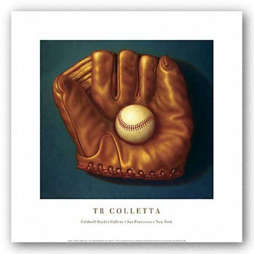 Baseball Mitt I by T.R. Colletta