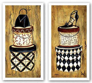 Vintage Hat Box Set by Krista Sewell