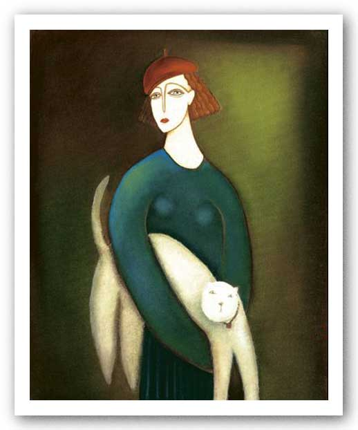 A Lady and Cocotte by Eva Skierska