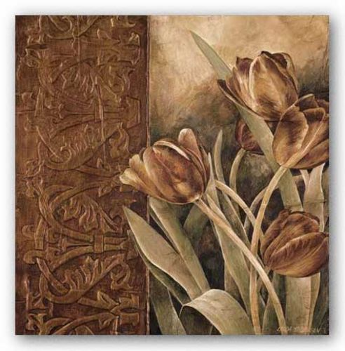 Copper Tulips I by Linda Thompson