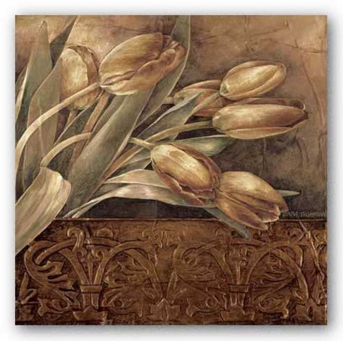 Copper Tulips II by Linda Thompson