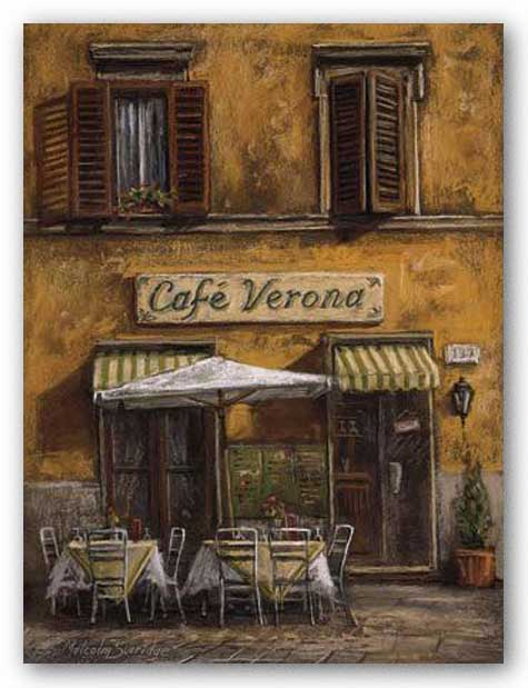 Cafe Verona by Malcolm Surridge