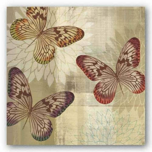 Tropical Butterflies I by Tandi Venter