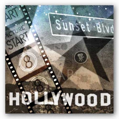 Sunset Blvd by Keith Mallett
