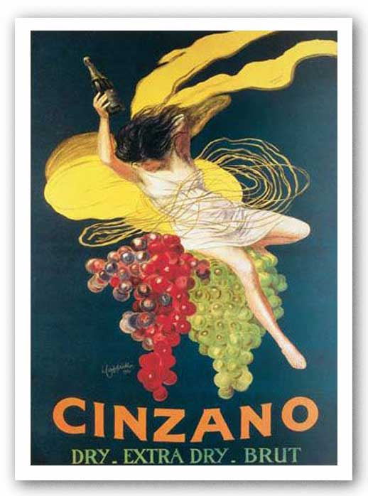 Cinzano, 1920 by Leonetto Cappiello