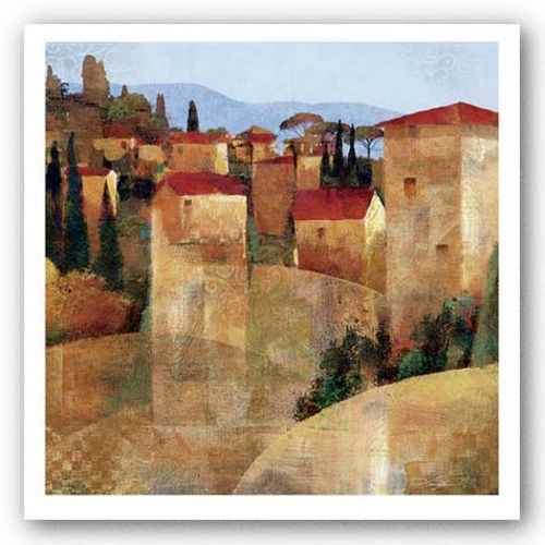 Tuscan Hillside by Keith Mallett
