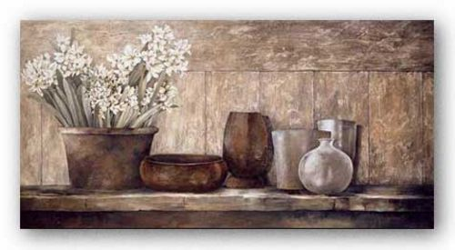 Hyacinth on a Sideboard by Linda Thompson