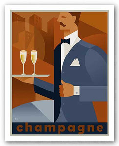 Champagne by Si Huynh