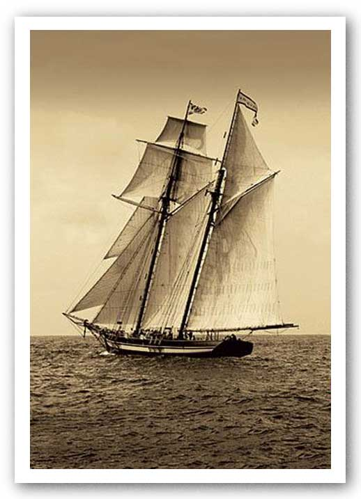 Under Sail II by Frederick J. LeBlanc