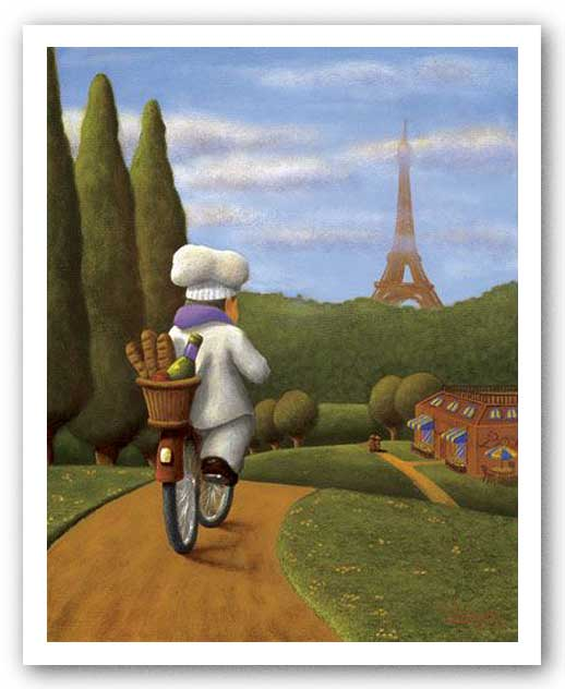 The Road to Paris by Bryan Ubaghs