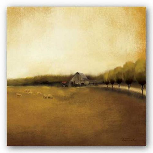Rural Landscape I by Tandi Venter