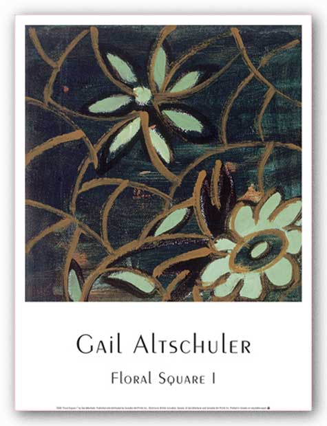 Floral Square I by Gail Altschuler