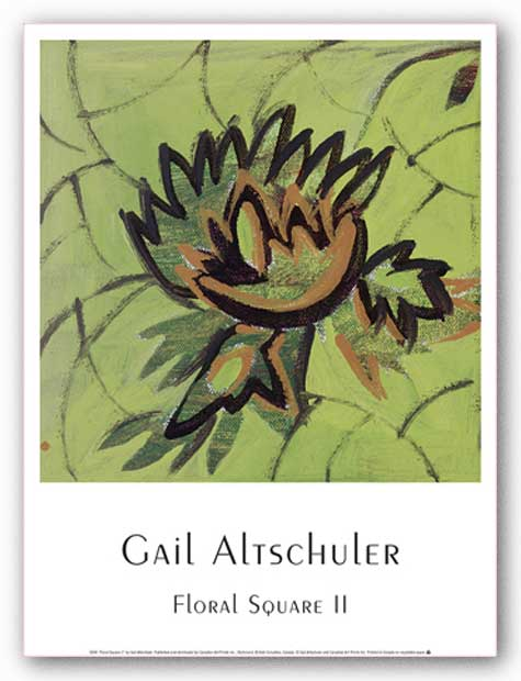 Floral Square II by Gail Altschuler