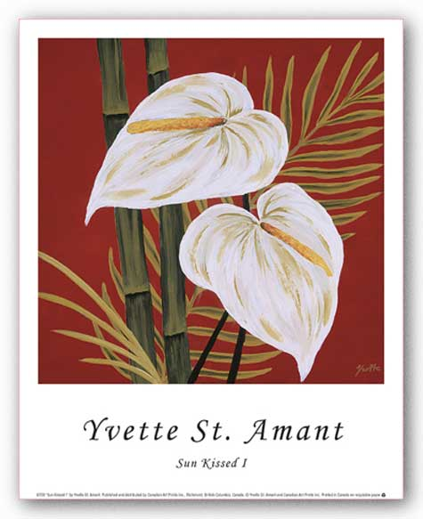 Sun Kissed I by Yvette St. Amant