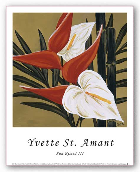 Sun Kissed III by Yvette St. Amant