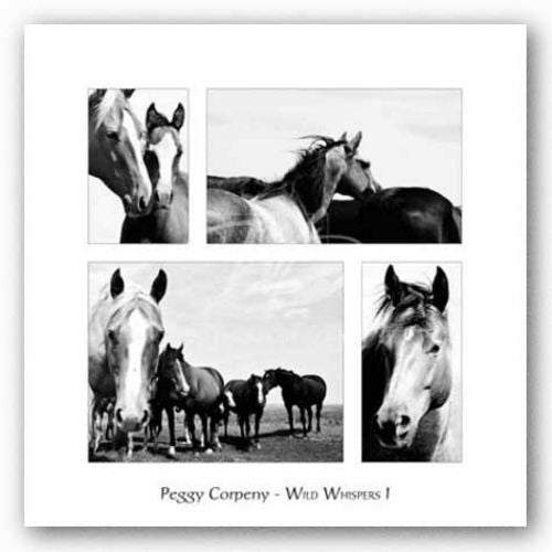 Wild Whispers I by Peggy Corpeny