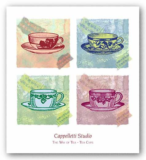 The Way of Tea - Tea Cups by Cappelletti Studio