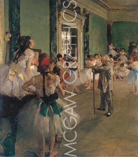 The Dance Class, ca. 1873-1876 by Edgar Degas