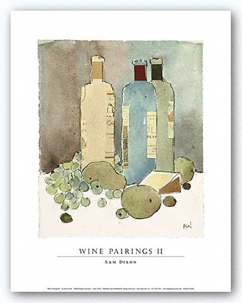 Wine Pairings II by Sam Dixon