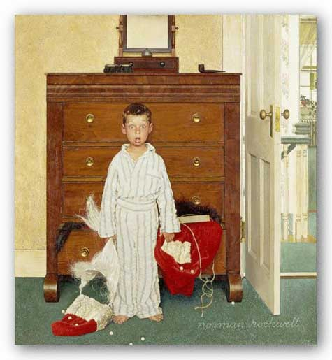 The Discovery by Norman Rockwell