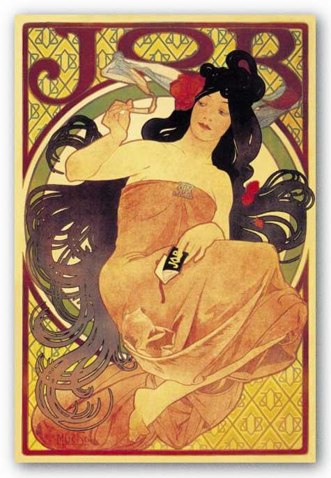 Job by Alphonse Maria Mucha