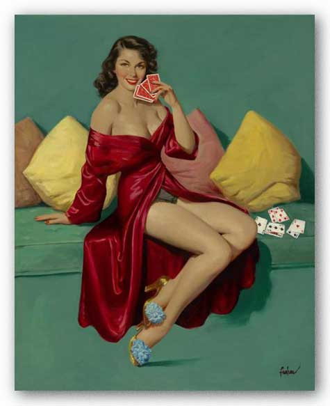 Pinups: I Deal by Art Frahm Pinups