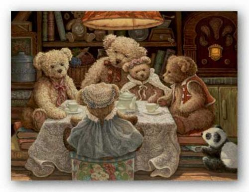 Teddy Bear Tea Party by Janet Kruskamp