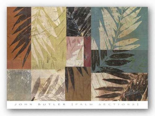 Palm Sections by John Butler