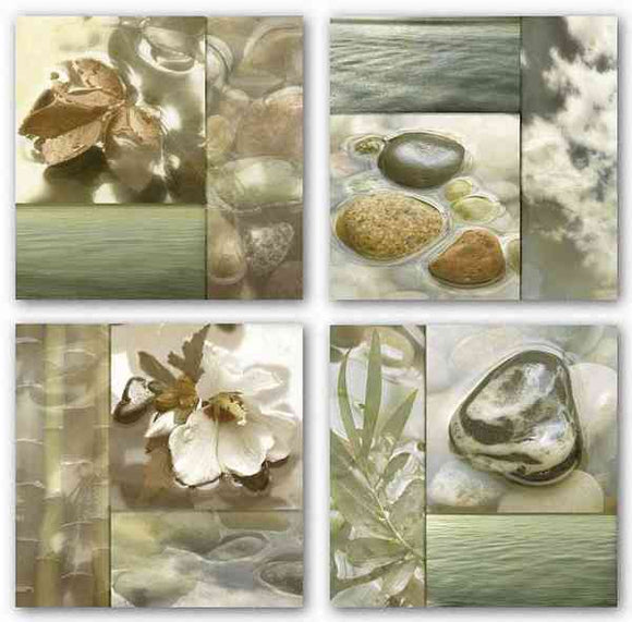 Zen Elements Set by Donna Geissler