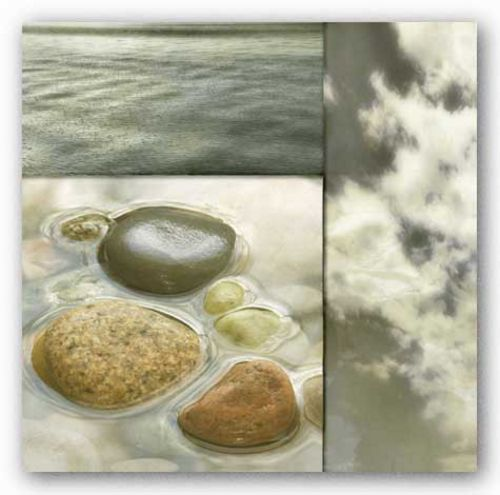 Zen Elements II by Donna Geissler