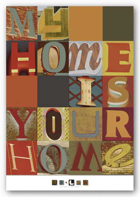 My Home is Your Home by M.J. Lew