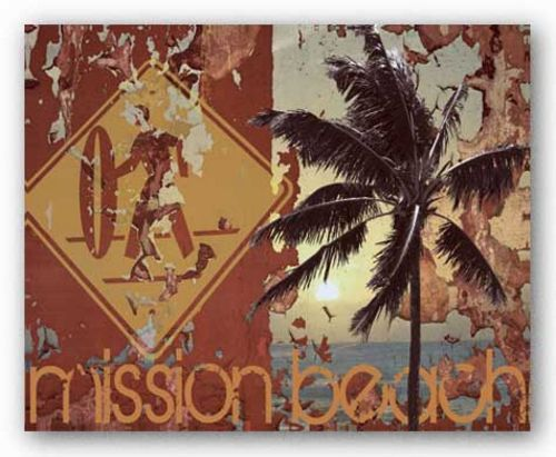 New Mission Beach by M.J. Lew