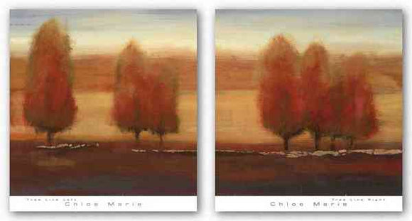 Tree Line Set by Chloe Marie